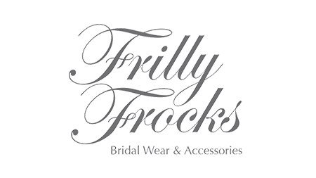 Frilly Frocks Logo is a client of Flo Web Design Ltd