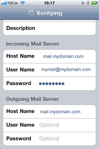 incoming mail detail for iphone