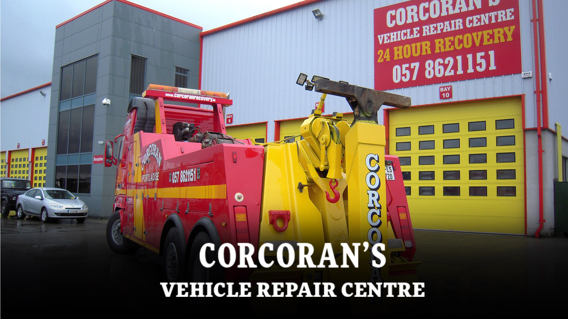 Portfolio: Corcoran's Vehicle Repair Centre