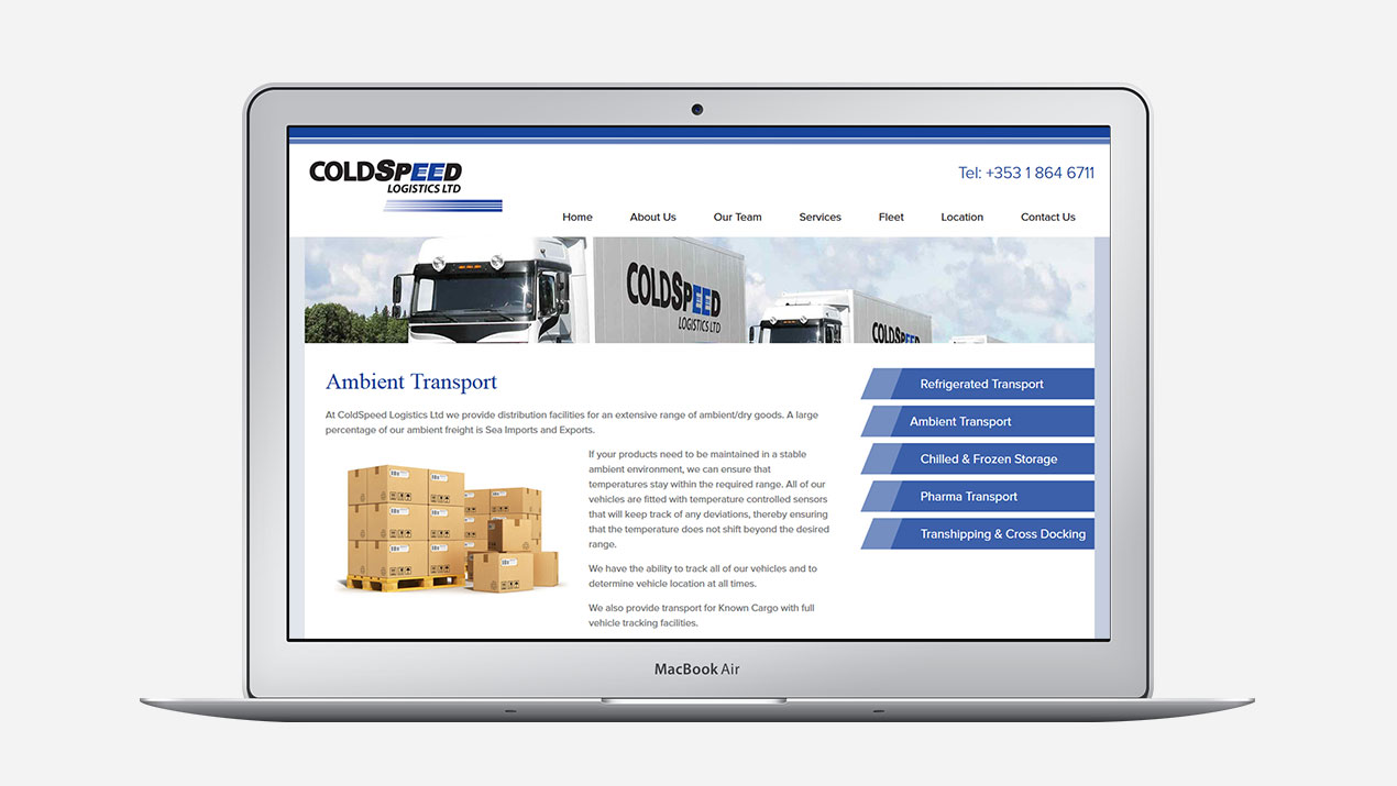 Portfolio: ColdSpeed